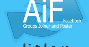 برنامج AIF مفاجئة 2016 خاص بالفيس بوك لإضافة والنشر في المجموعات